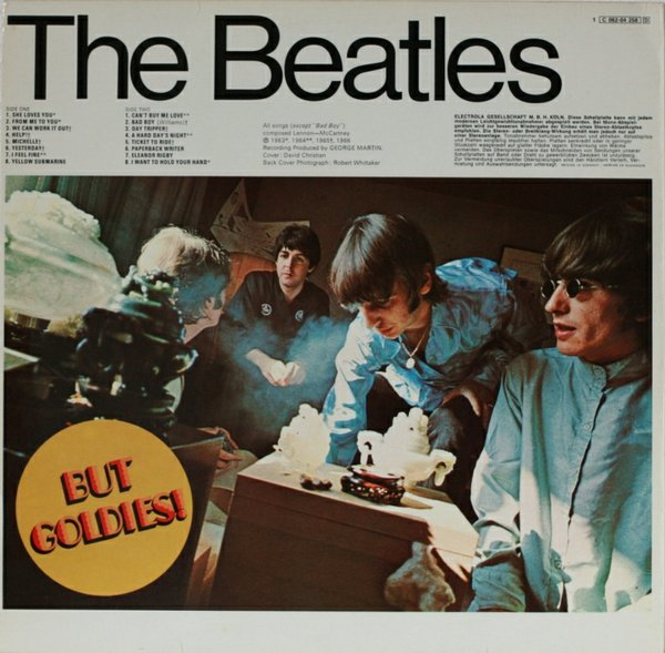 A Collection Of Beatles Oldies But Goldies Collecting
